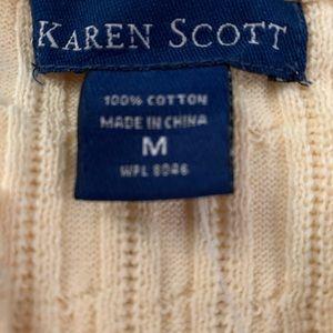 Karen Scott Sweaters - NWT Lady's knit top
